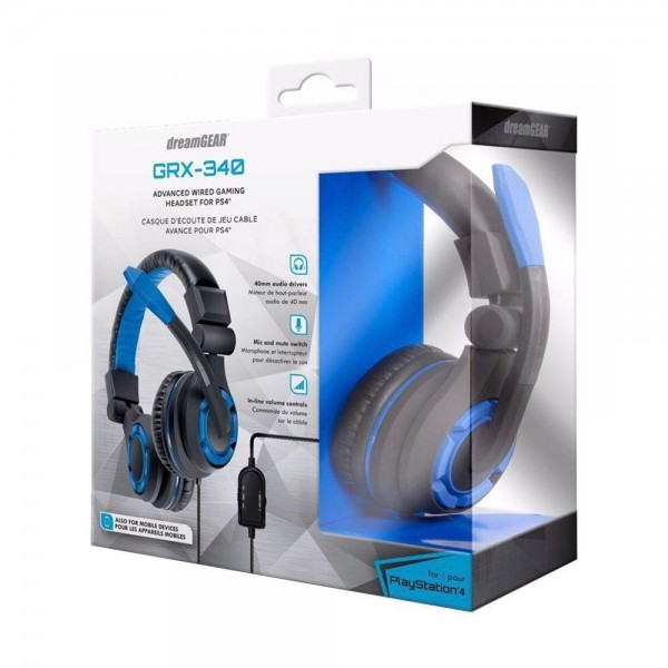 HEADSET FOR PS4 GRX-340 DREAM GEAR