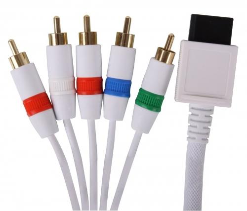 Cabo Video Componente Wii