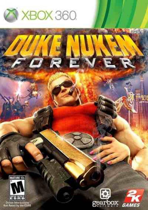 DUKE NUKEM _ XBOX 360
