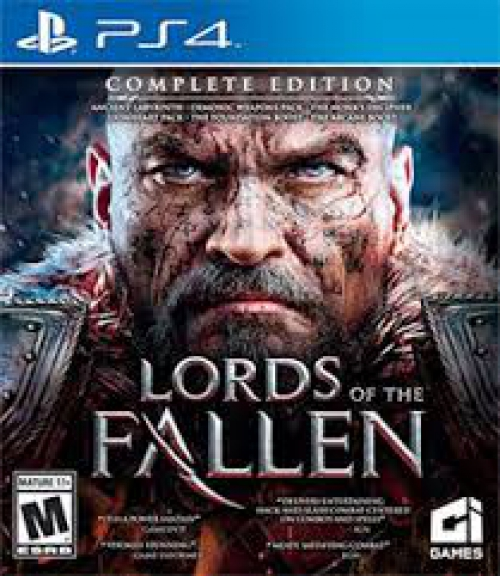 LORDS OF FALLEN PS4