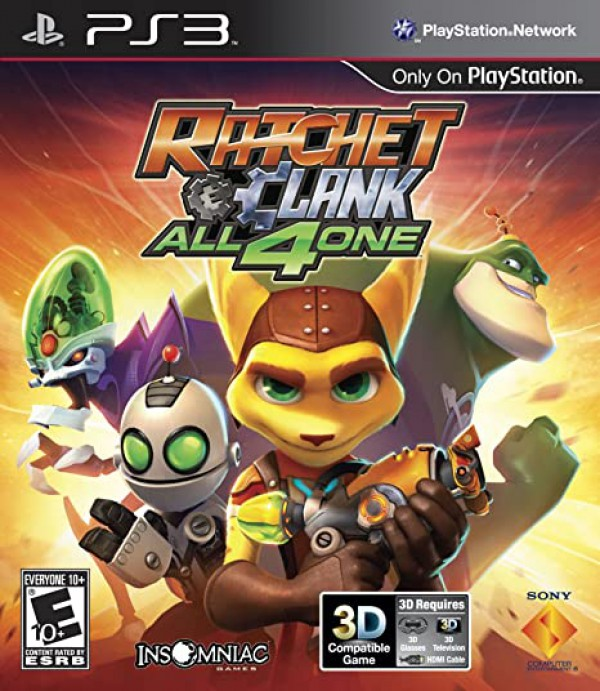 RATCHET E CLANK ALL 4ONE