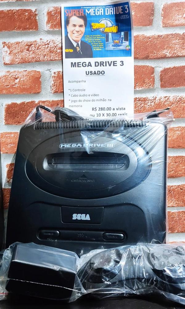 MEGA DRIVE III APARELHO USADO,REVISADO