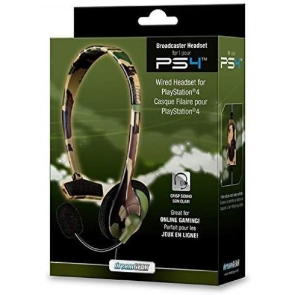 BROADCASTER HEADSET FOR PS4 CAMUFLADO