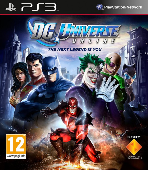 DC UNIVERSE ON LINE THE NEXT LEGEND IS YOU